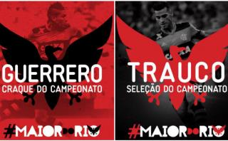 Guerrero elegido mejor jugador y delantero del Torneo Carioca