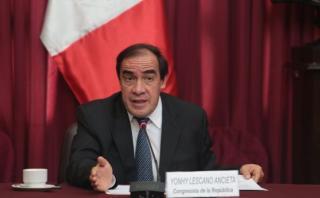 """Lescano a Fujimori: """"Pedidos de indulto no se hacen en Twitter"""""""