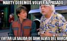 Juventus vs Mónaco: Dani Alves es protagonista de los memes