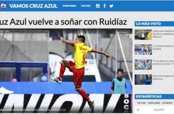 Raúl Ruidíaz: poderoso club mexicano está tras sus pasos