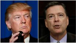 Donald Trump despide al director del FBI James Comey