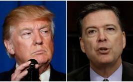 Donald Trump despide al director del FBI James Comey