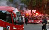 Atlético de Madrid: el banderazo previo al partido ante el Real