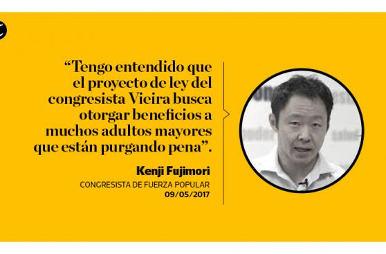 Así emplazó Kenji a su bancada por libertad de Alberto Fujimori