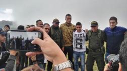 Chapecoense: sobrevivientes visitaron cerro del accidente aéreo
