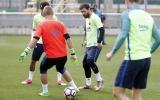 Lionel Messi deja en ridículo a compañero con esta 'huacha'