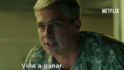 """Netflix: mira el nuevo tráiler de """"War Machine"""" con Brad Pitt"""