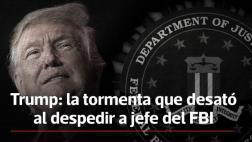 Donald Trump: ¿Qué hay detrás del despido del jefe del FBI?