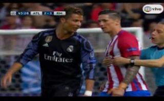 Fernando Torres perdió los papeles con Cristiano Ronaldo