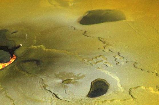 Observan olas de lava en volcán de la luna Io, en Júpiter