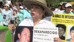México: Madres marchan en su día por sus hijos desaparecidos