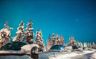 En este hotel finlandés podrás pasar la noche dentro de un iglú