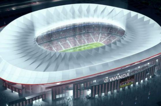 Peruano quedó grave tras caerse en estadio del Atlético Madrid