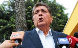 García: Hay condiciones para dar indulto humanitario a Fujimori