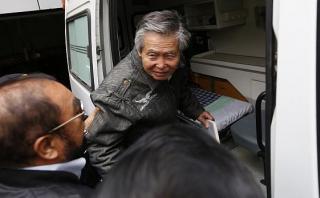 Alberto Fujimori fue trasladado a clínica por taquicardia