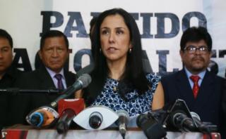 """Nadine Heredia sobre Alan García: """"¿No recibe propinitas?"""""""