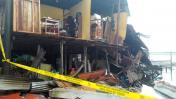 Iquitos: ocho casas colapsan debido a las fuertes lluvias
