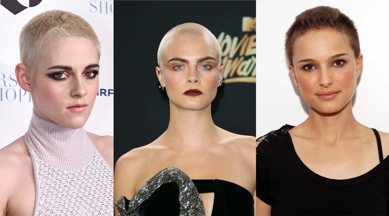 10 famosas que rompieron los moldes y se raparon la cabeza