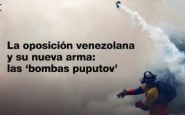 """Venezuela: Las """"armas bioquímicas"""" llegaron a las protestas"""