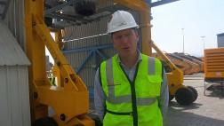 Compañía presentó nuevo equipos de carga para el Callao