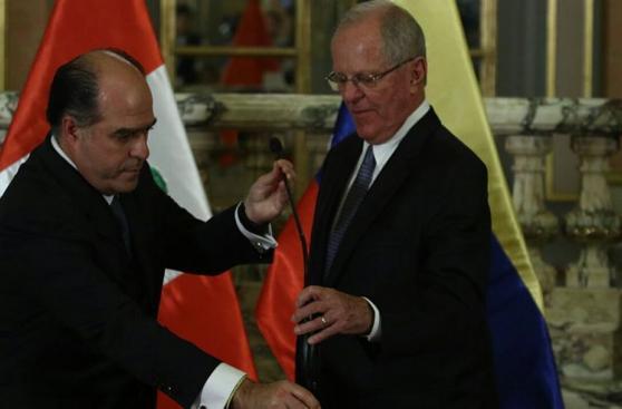PPK se reunió con titular de la Asamblea Nacional de Venezuela