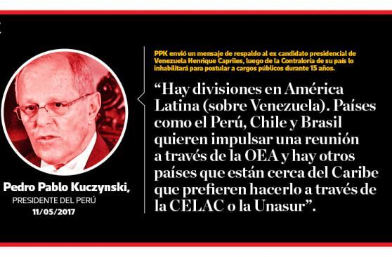 PPK sobre Venezuela y las respuestas del régimen de Maduro