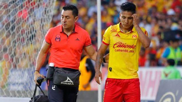 Monarcas Morelia reveló el grado de la lesión de Raúl Ruidíaz