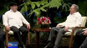 Raúl Castro respaldó a las FARC y el ELN en procesos de paz
