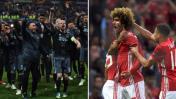 Manchester y Ajax van por la otra mitad de la gloria europea
