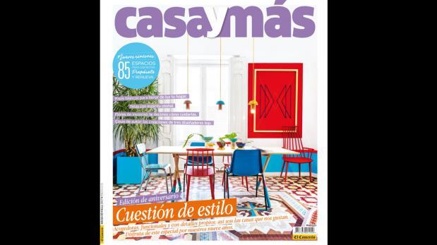 La revista Casa y Más llega con un especial de aniversario