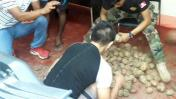 Loreto: hallan 30 kilos de droga camuflados en papas [FOTOS]