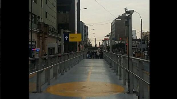 Metropolitano: reabren estaciones de ruta A y C en Cercado