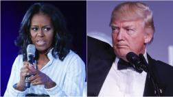 Michelle Obama critica cambios de Trump a su programa escolar