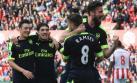 Arsenal ganó y aprieta lucha por los cupos a Champions League