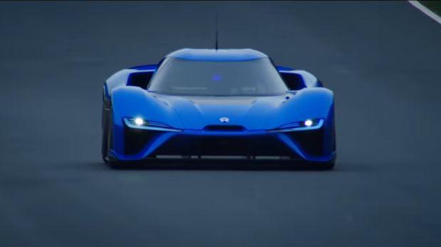 NIO EP9: el auto eléctrico y autónomo más rápido de Nürburgring
