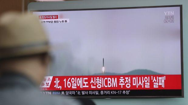 Corea del Norte realizó un nuevo lanzamiento de misil