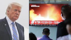 """Trump pide """"sanciones mucho más fuertes"""" por misil norcoreano"""