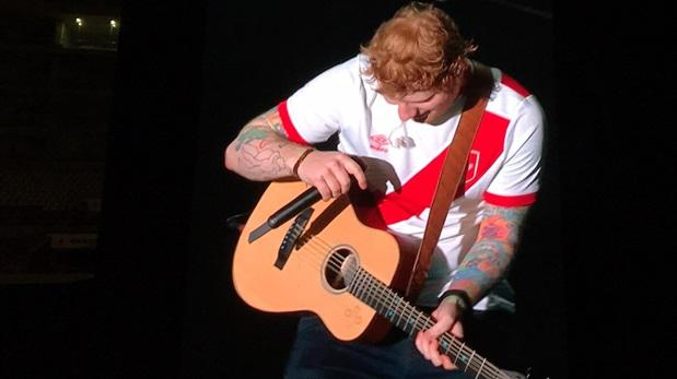 Ed Sheeran en Lima: así fue su concierto en el Nacional [VIDEO]