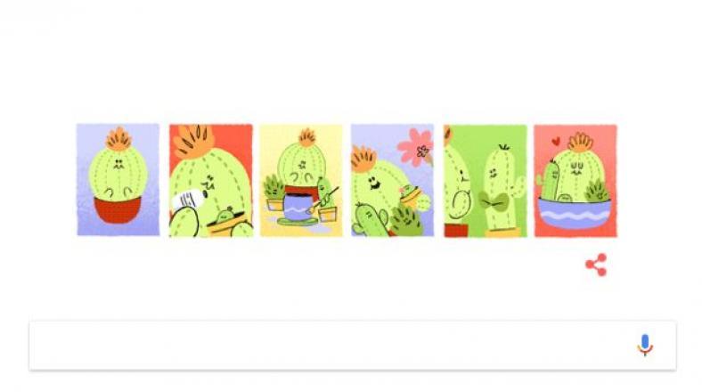 Google celebra el Día de la Madre con un doodle animado