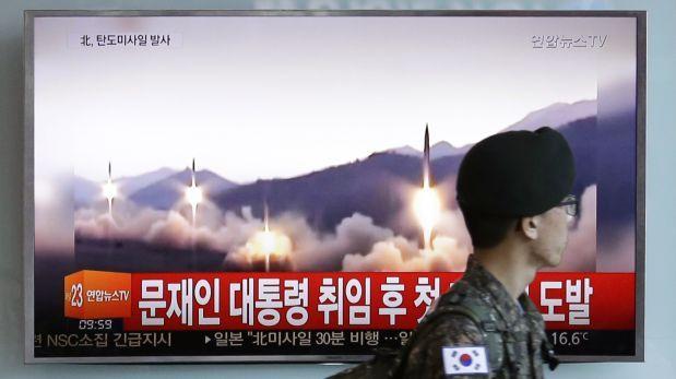 OTAN critica lanzamiento de misil balístico de Norcorea