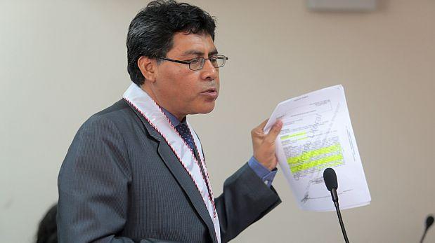 Fiscal Germán Juárez obtuvo declaraciones de testigos brasileños