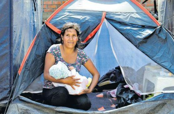 Madres de Carapongo luchan por sus familias tras los huaicos