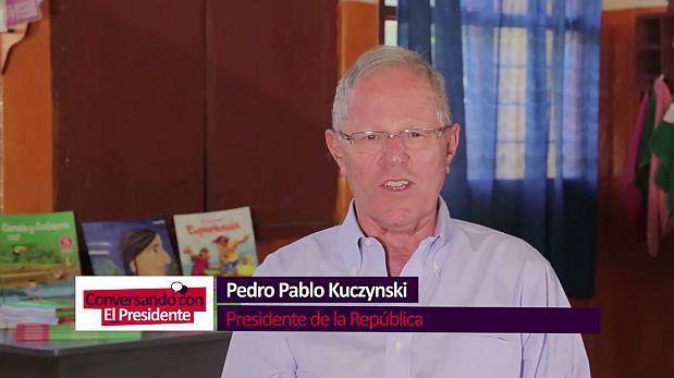Kuczynski debuta en la TV: ¿de qué trató su primer programa?