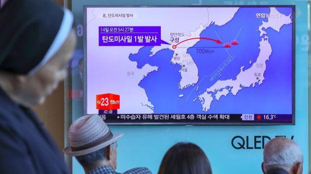 EE.UU. asegura que misil norcoreano cayó cerca de Rusia