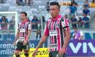 Christian Cueva erró un gol claro frente a Cruzeiro [VIDEO]