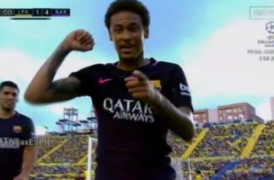 Barcelona: Neymar brilló ante Las Palmas con un triplete