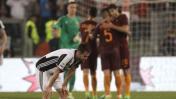Roma venció 3-1 a Juventus y aplazó el título bianconero