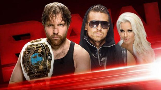 WWE Raw: revive todas las peleas del evento rojo en New Jersey