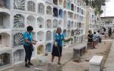 Dengue en Piura: realizan campaña informativa en cementerio