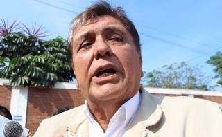 """García asegura que tuvo una """"relación protocolar"""" con Odebrecht"""